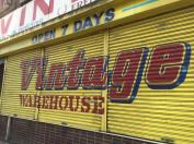 Nottingham city vintage warehouse